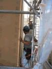 構造用面材の施工