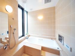 お風呂は、一日の疲れをとる癒しの空間。